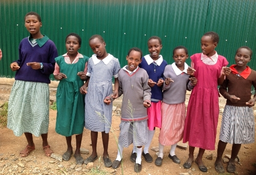 60 girls are currently in residence at the Olosho-olbor Girls' Rescue Center!