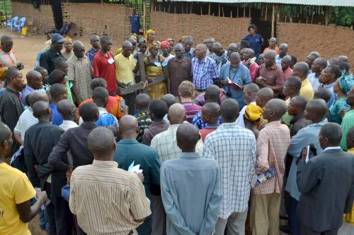 Church leaders take their pain to the Cross of Christ (Central Kasai Province)