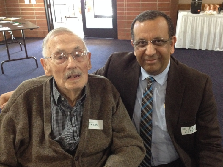 Jack Lorimer and Atef Gendy