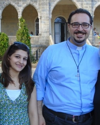 Rev. Sabbagh and his wife, Grace