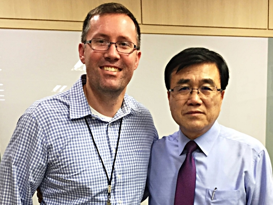Josh Hanson and Choon Lim