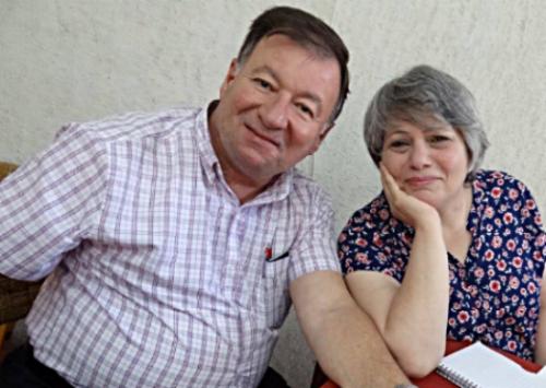 Rev. Haitham Jazrawi and his wife, Mayada
