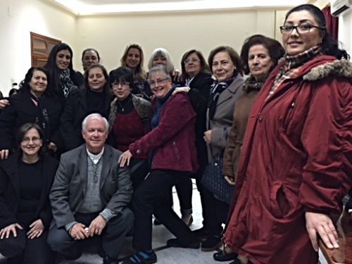 At the Women's Meeting in Homs
