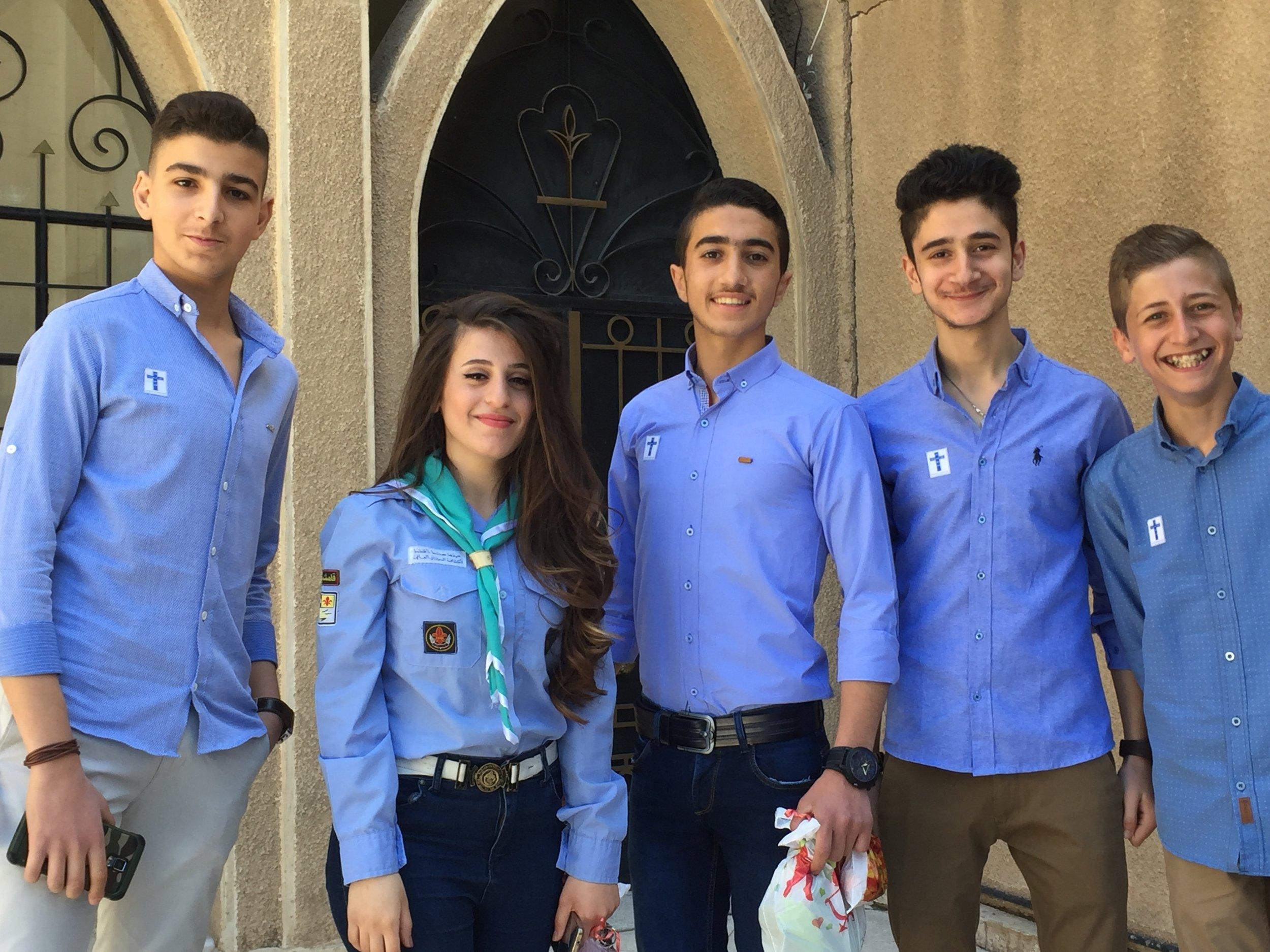 At Qamishli Church, the future looks bright.
