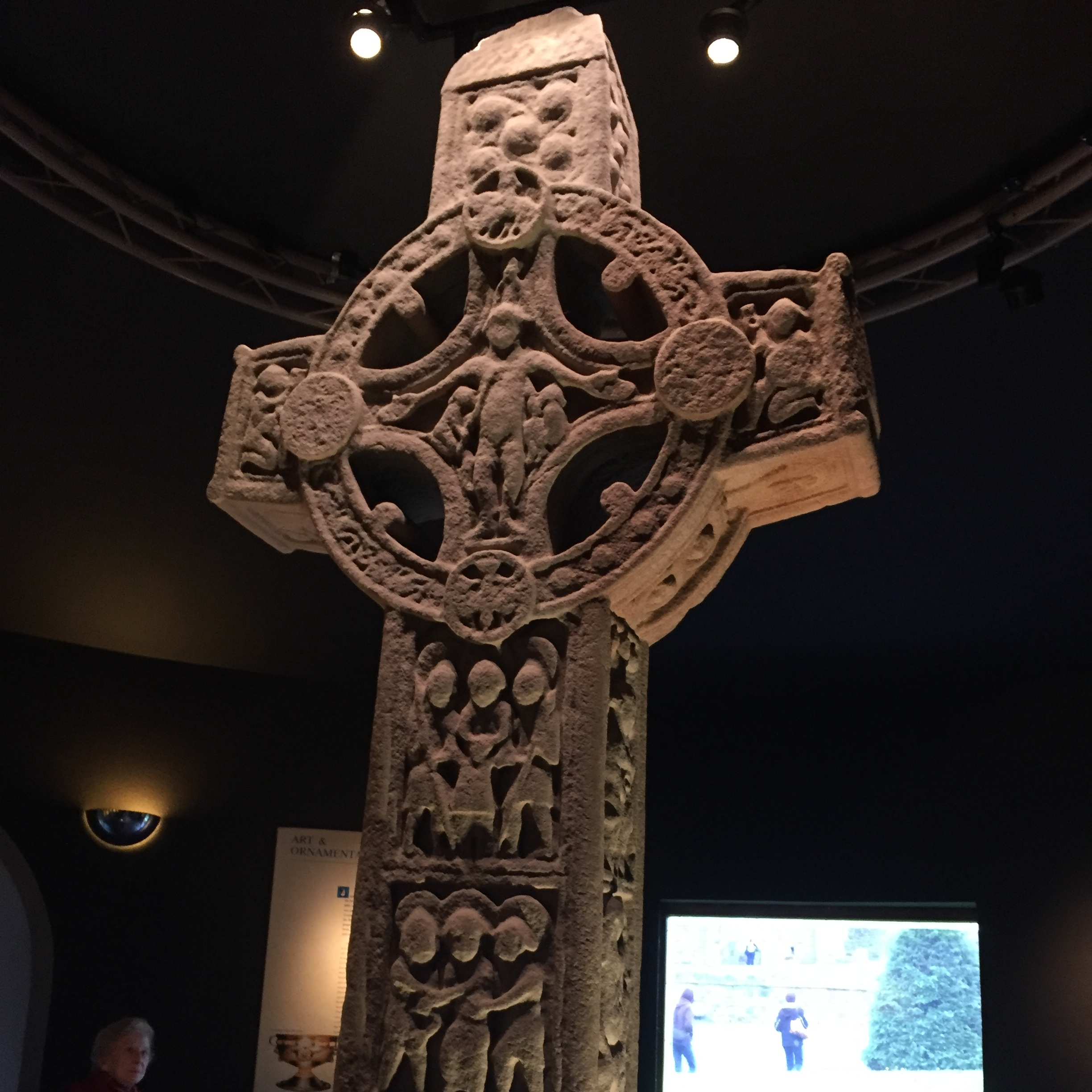 High Cross of the Scriptures,Clonmacnoise Monastery