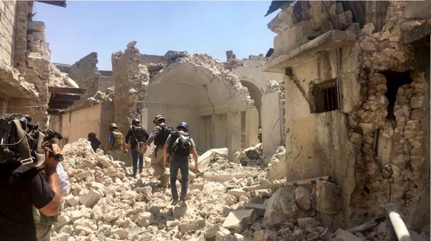 Mosul in ruin
