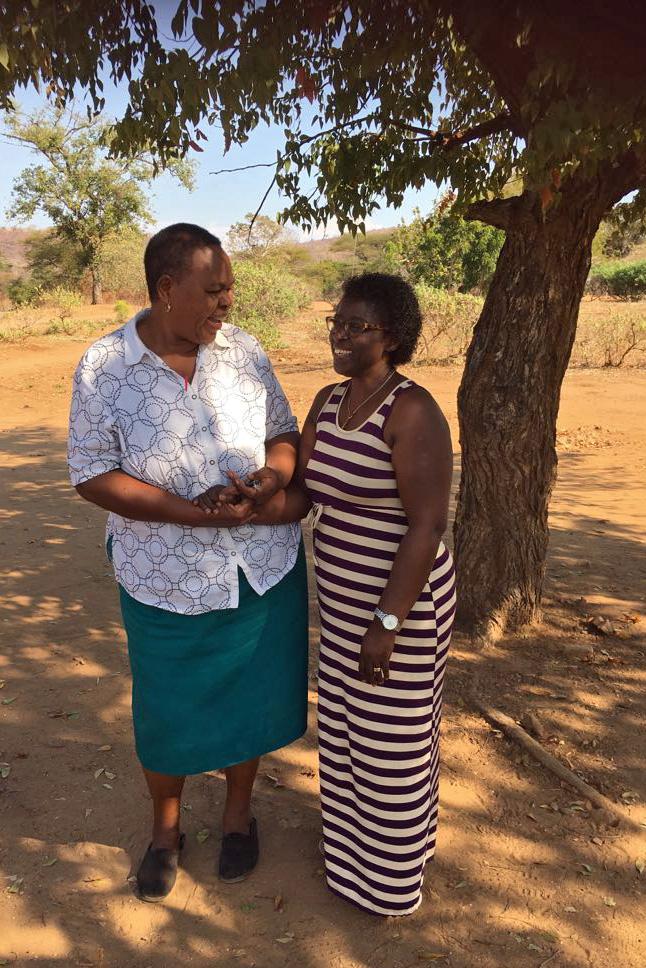Rudia Mwela and Ebralie Mwizerwa