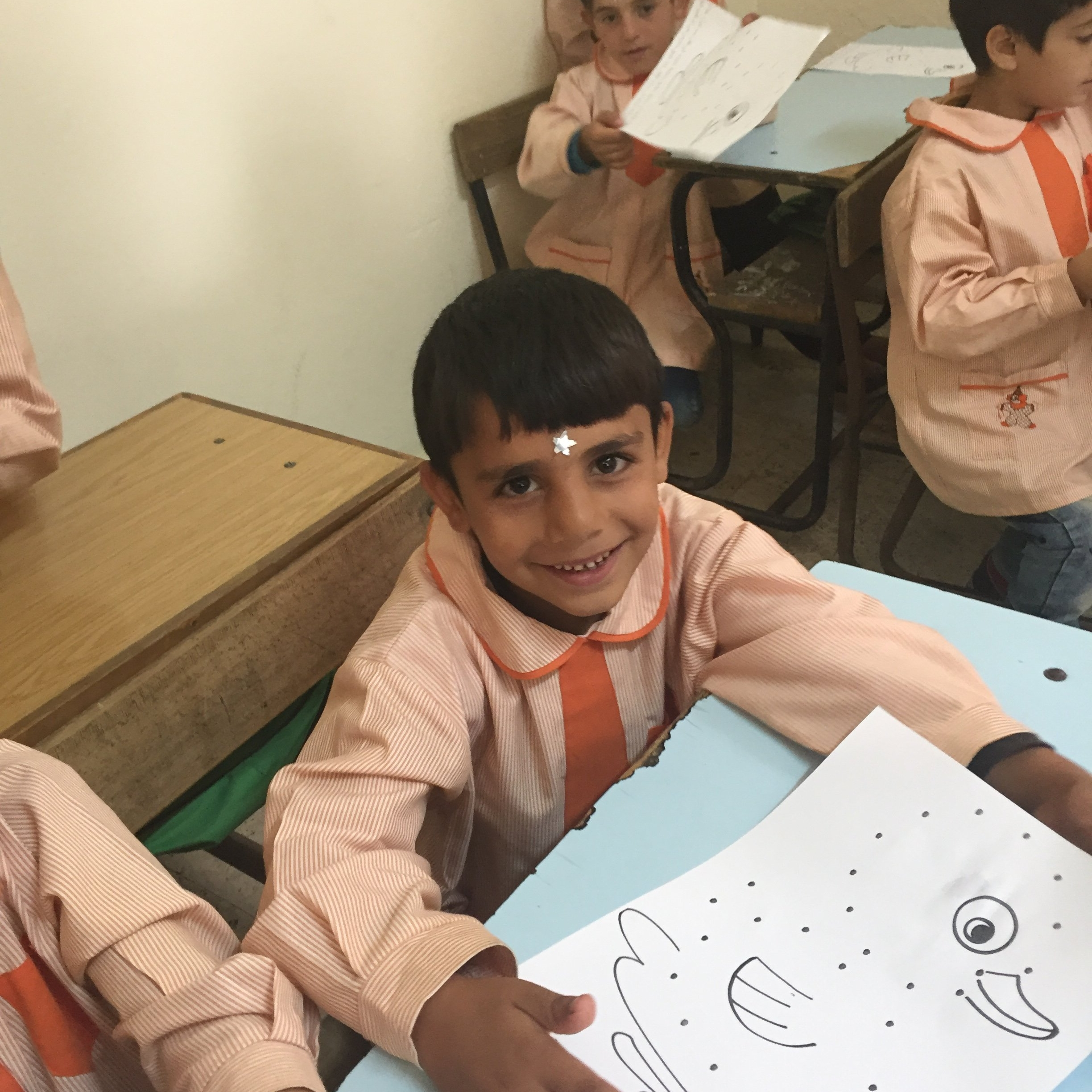 Hope-for-Syrian-Students-November-2017-boy-at-school.JPG