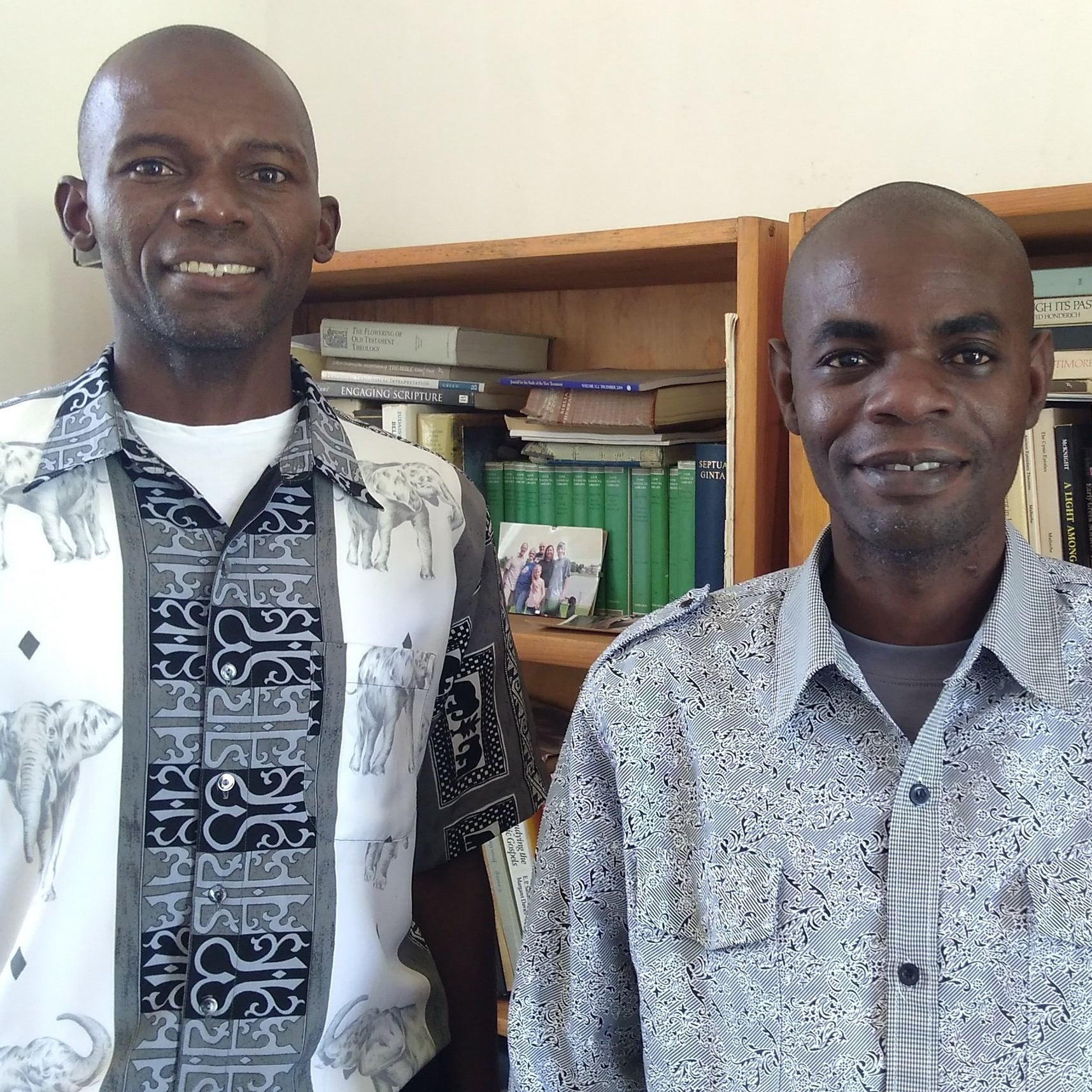 Rev. Feston Chilumpha and Rev. Gift Given Simwera will soon head back to serve churches in their homeland of Malawi.