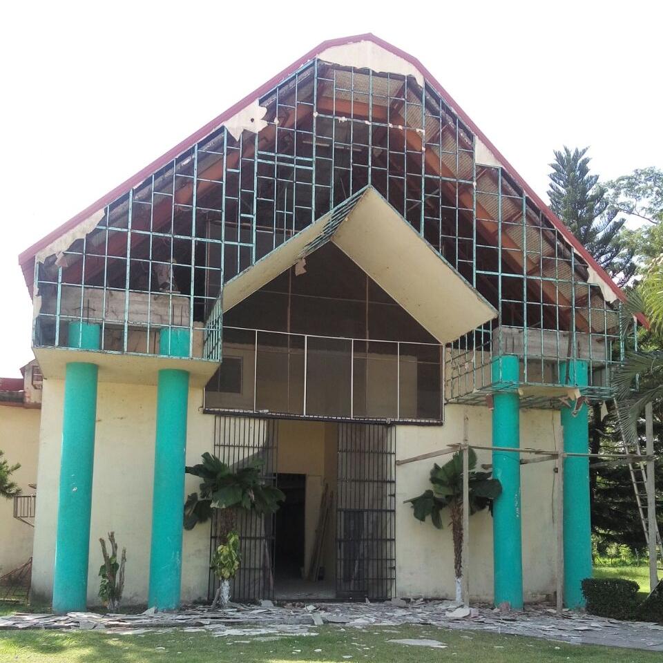 Chapel undergoing renovation