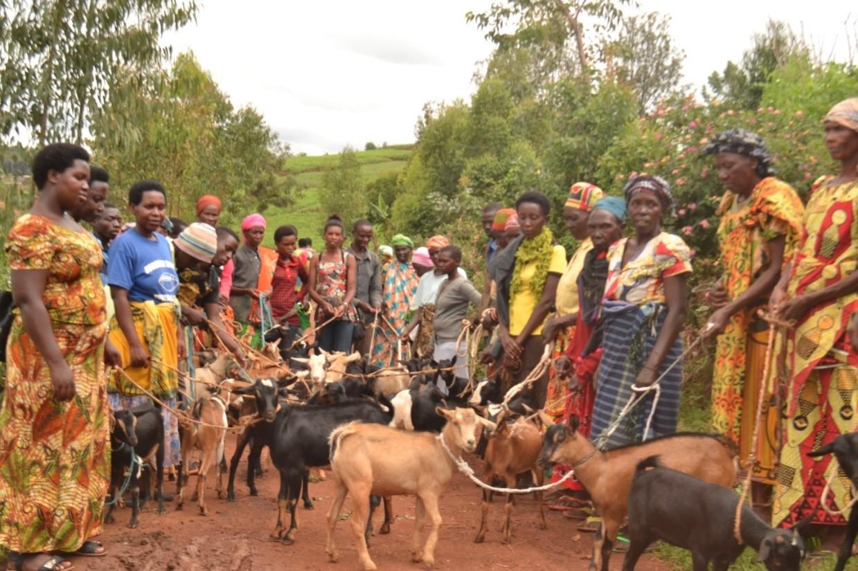 Women's Ministries in Africa December 2017 update women and goats.jpg