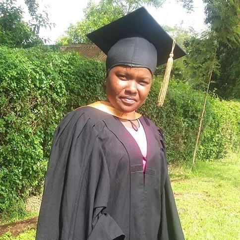 Peninah Mutheu, degree in Education, PUEA-Tumaini  E-Learning Program