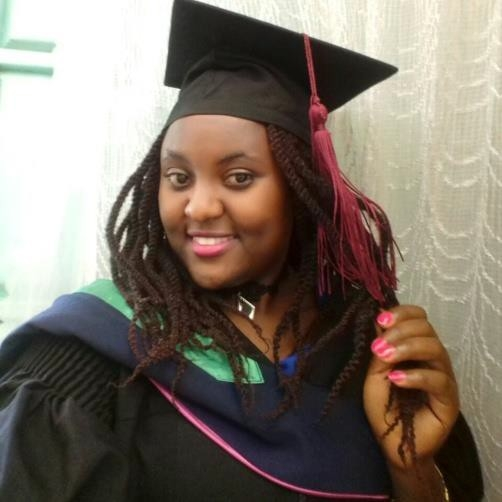 Eunice Wanjiku Kamau, degree in Wildlife Enterprise Management, Chuka University