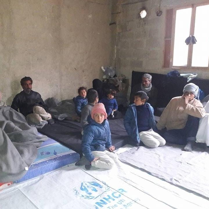 """Inside the Jibreen """"shelter"""""""