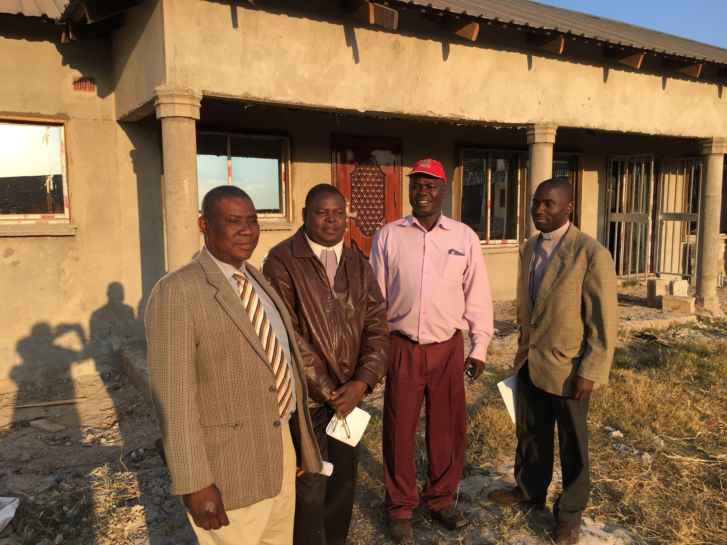 CCAP Zambia church leaders