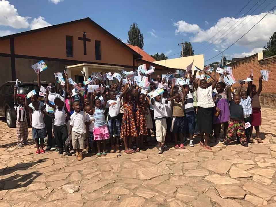 Some of the children of EPR Remera-Kicukiro