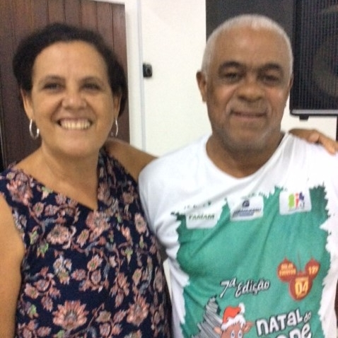 Adilson and his wife