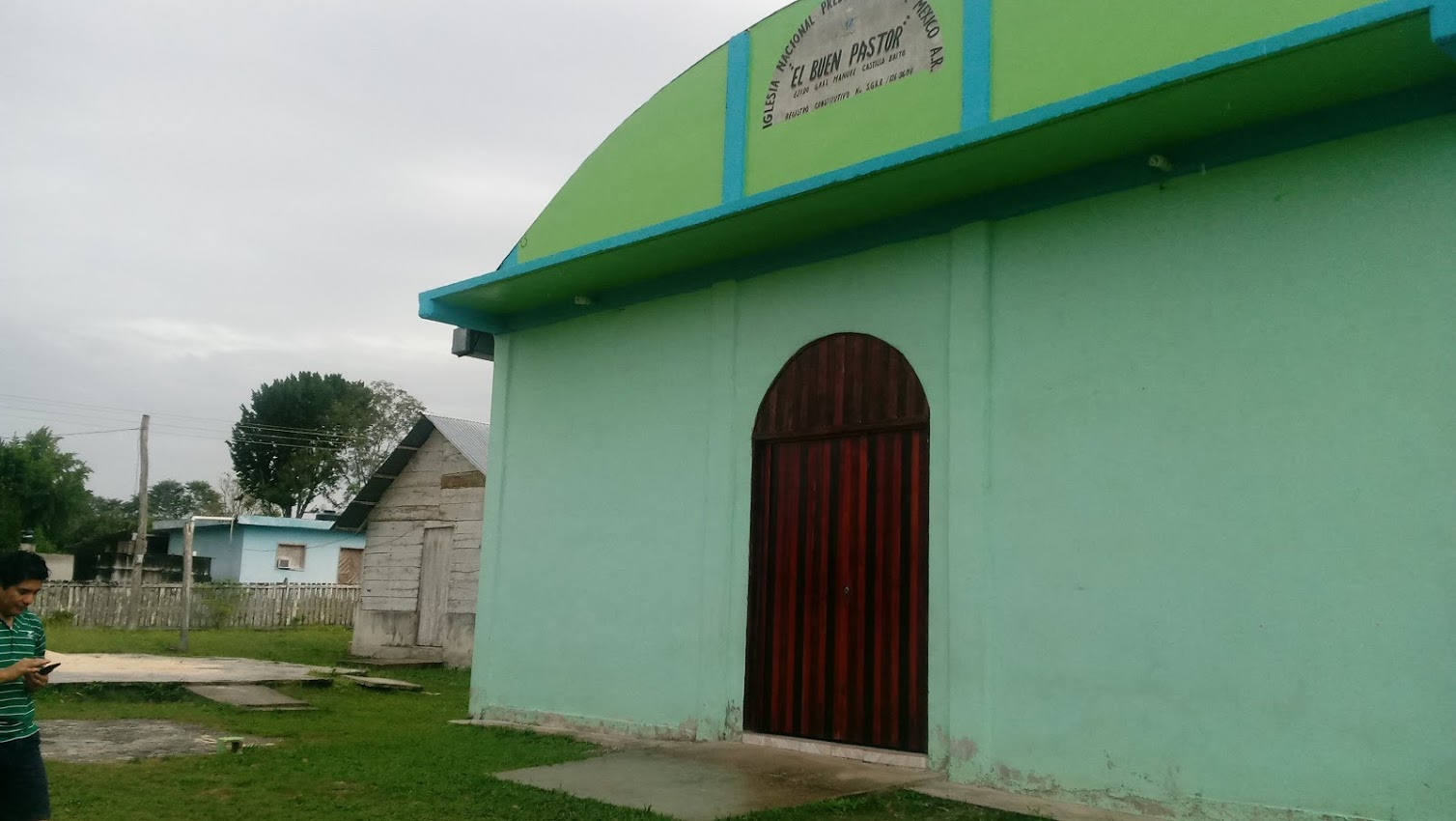 Good Shepherd Presbyterian Church, where Victor and Raul and members and officers