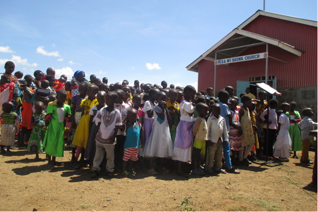 PCEA Mt. Suswa Church dedication in Kenya