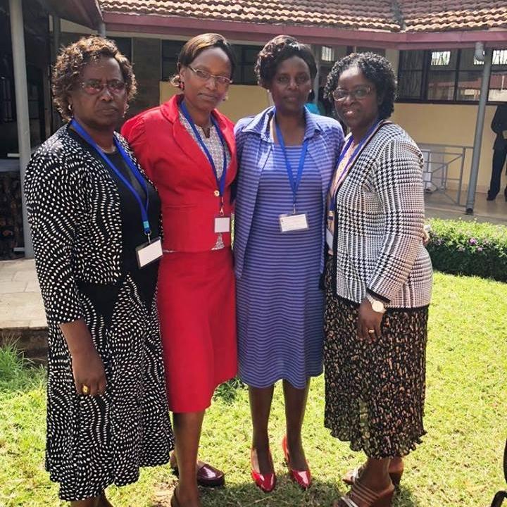 Eunice Kago, Catherine Karugu, Anne Wandimi, Ebralie Mwizerwa