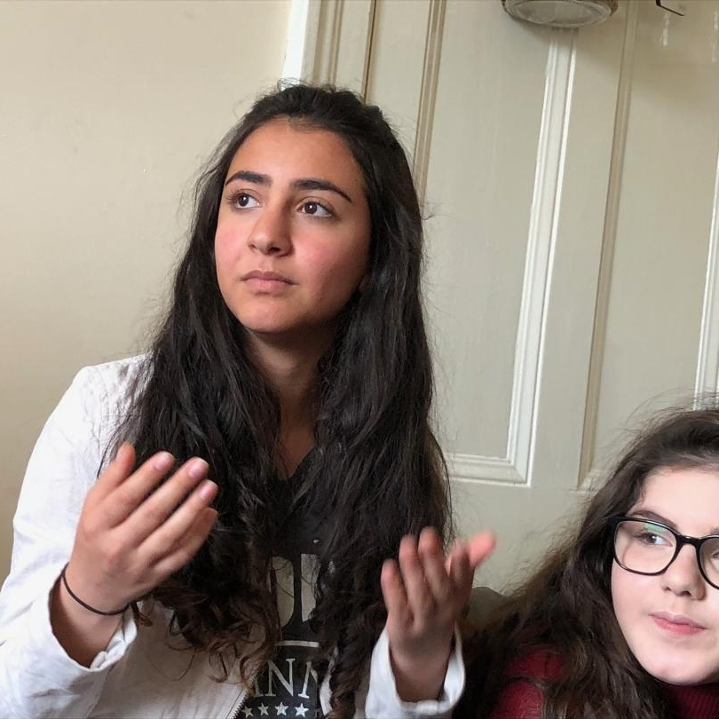 Our 15 year old friend telling us how she left Iran and found Jesus
