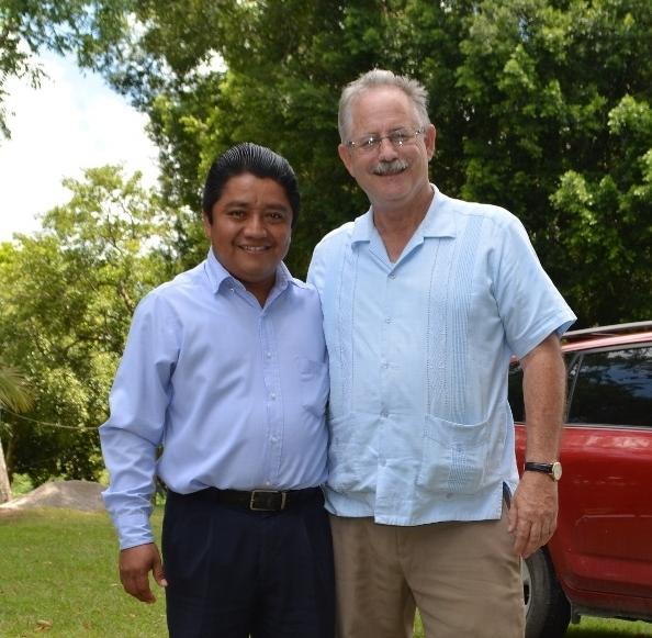 Rev. Usias Arcos and Rev. Don Wehmeyer