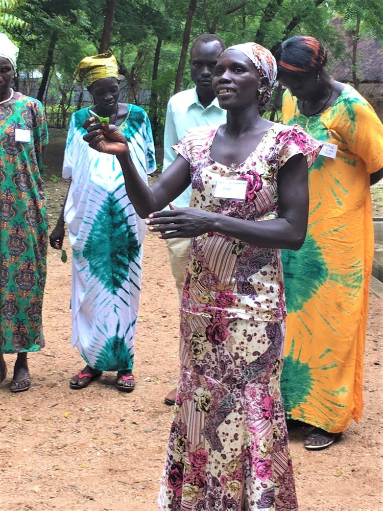 South Sudanese leaders studying  trauma healing