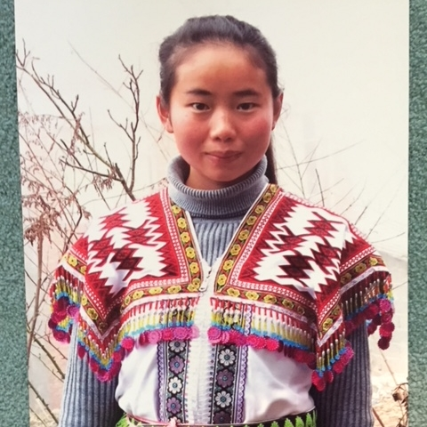 Young evangelist in Yunnan