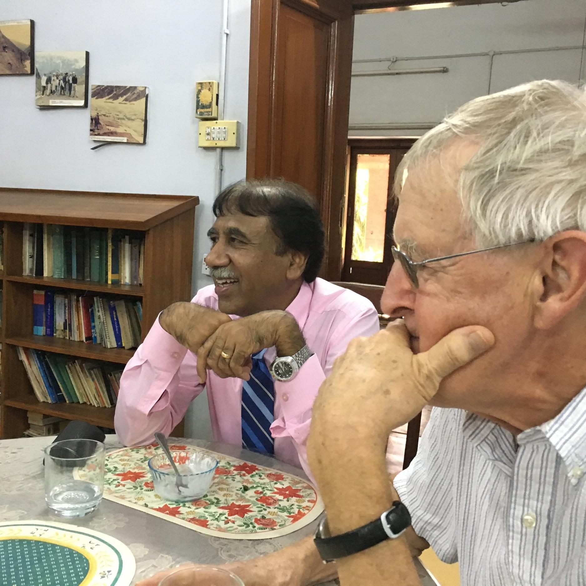 Dr. Zeno Naeem and Richard Paddon