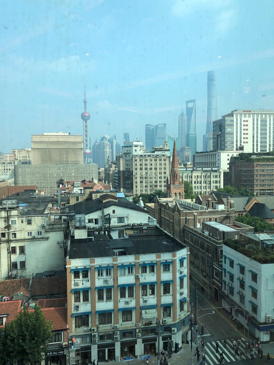 Can you find the Church building in modern Shanghai?