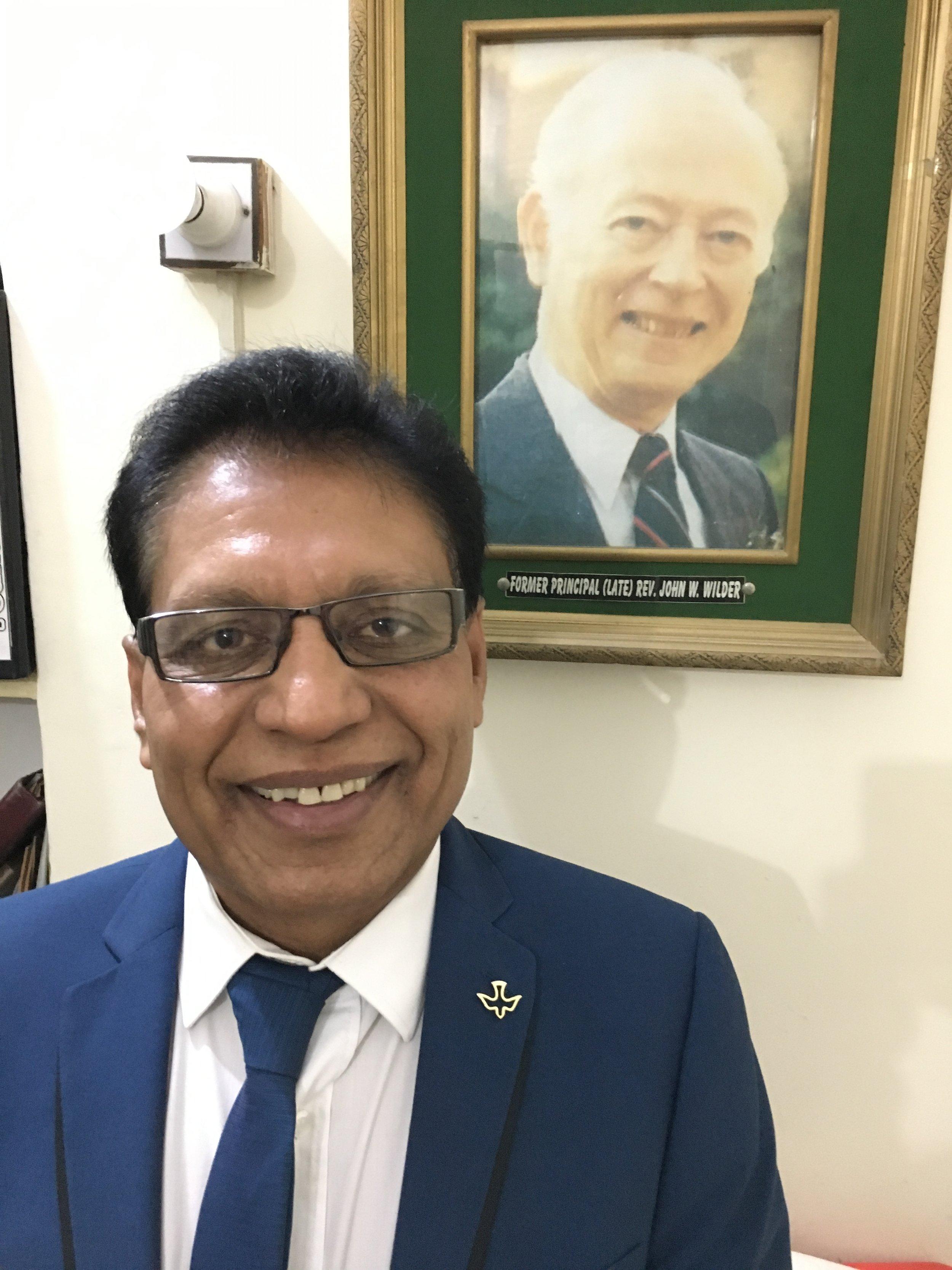Mr. Muzaffar Nazish, Principal of PBCS Faisalabad Centre