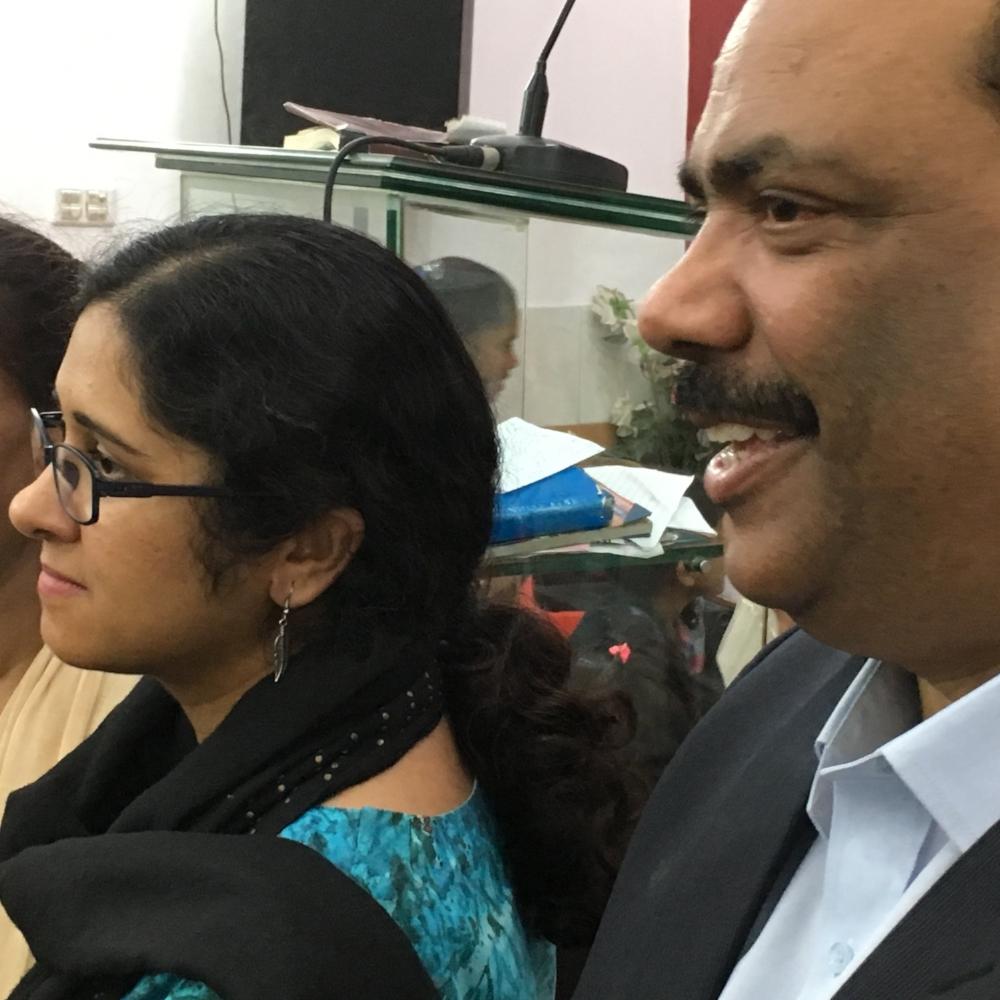 PCP Moderator Majid Abel and his wife Hina