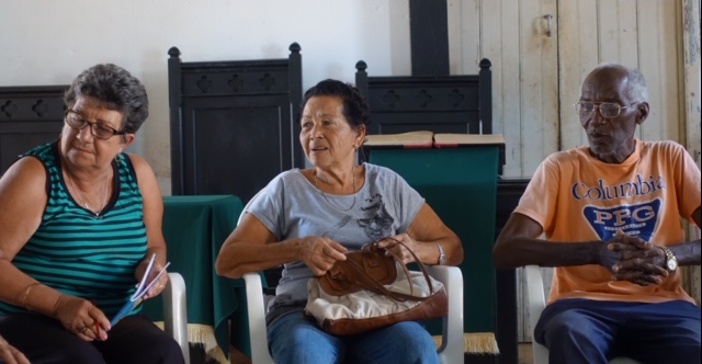 Members of the Remedios congregation
