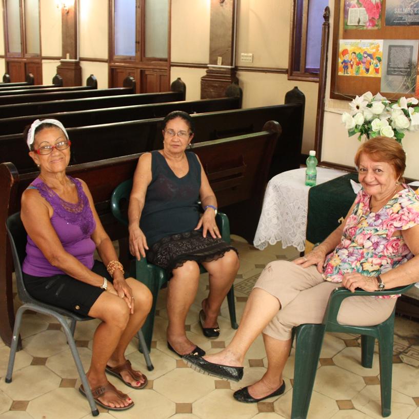 First Havana church members