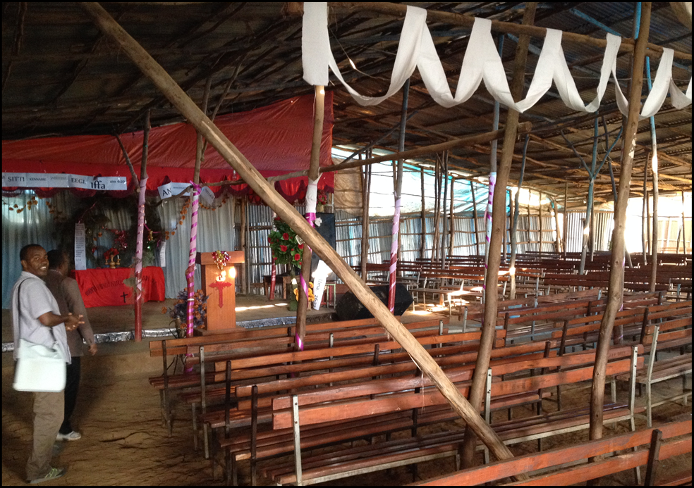 Church Construction in Jimma 2016 handout makeshift sanctuary.png