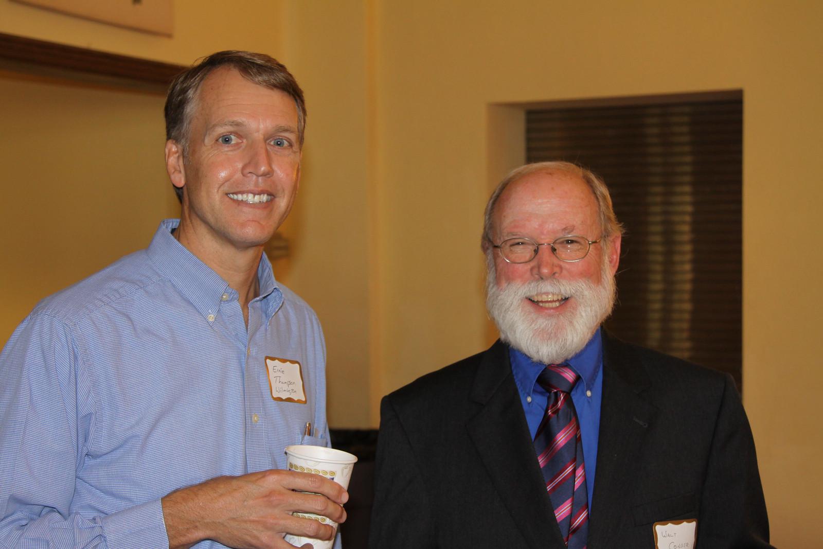 Ernie Thompson and Walt Conser
