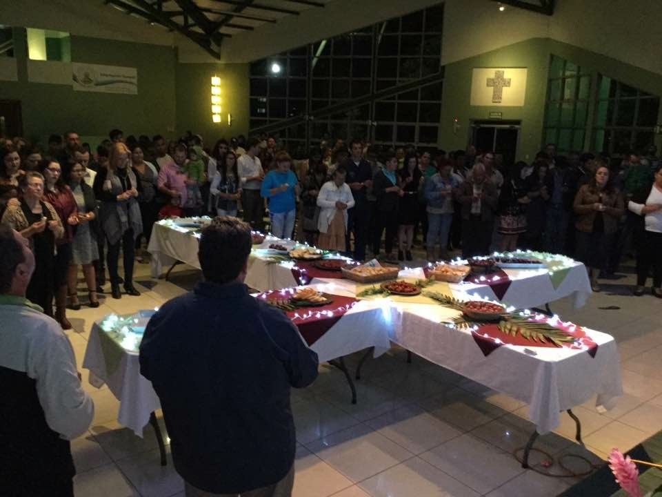 Shalom Teaching Ministry January 2018 update Dinner during one of the gatherings.jpg