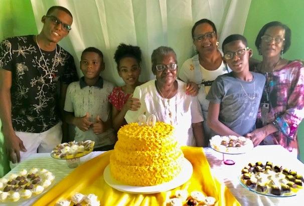 Dona Maria Gáilio's 80th birthday party