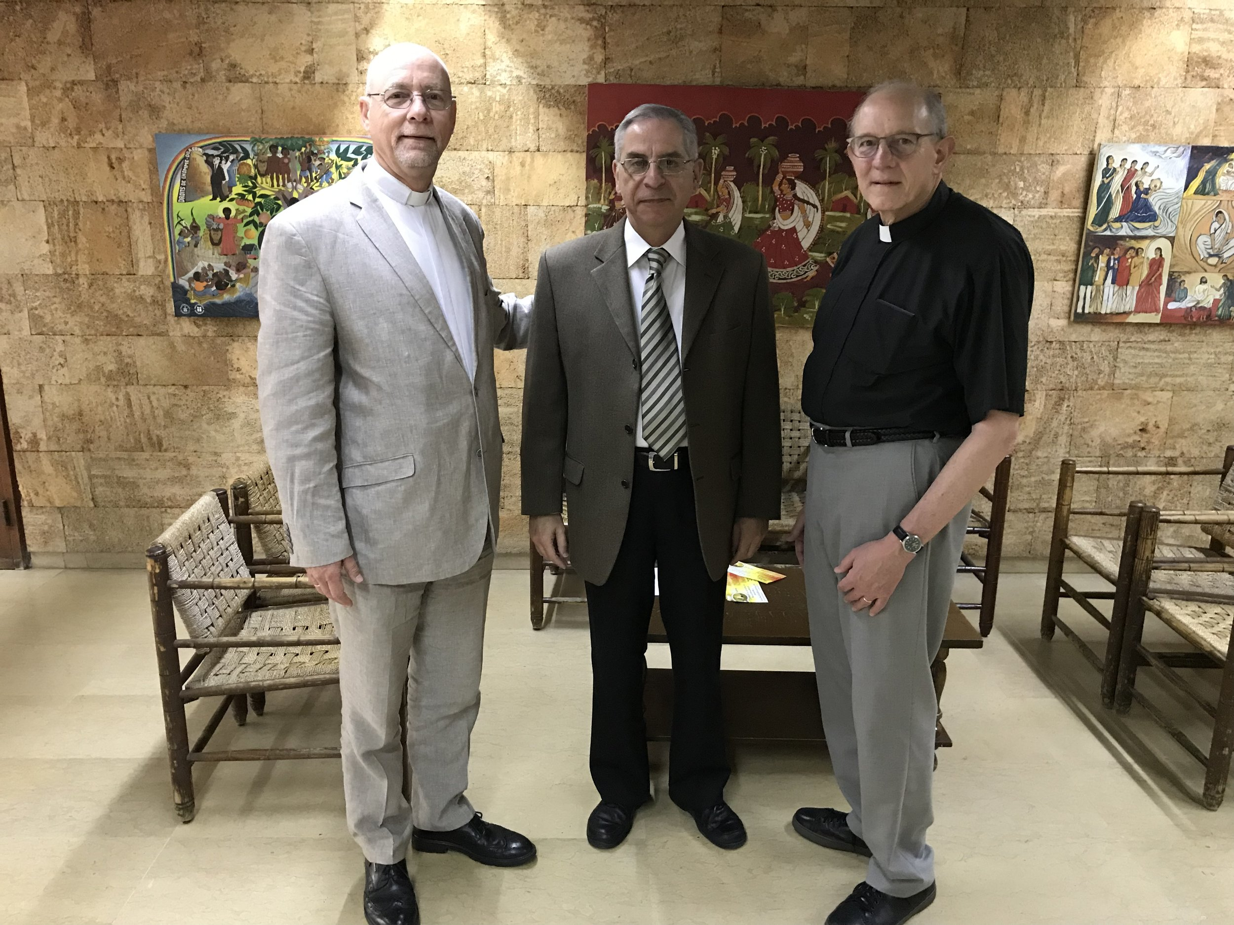 Carlos Emilio Ham, George Sabra, Rob Weingartner