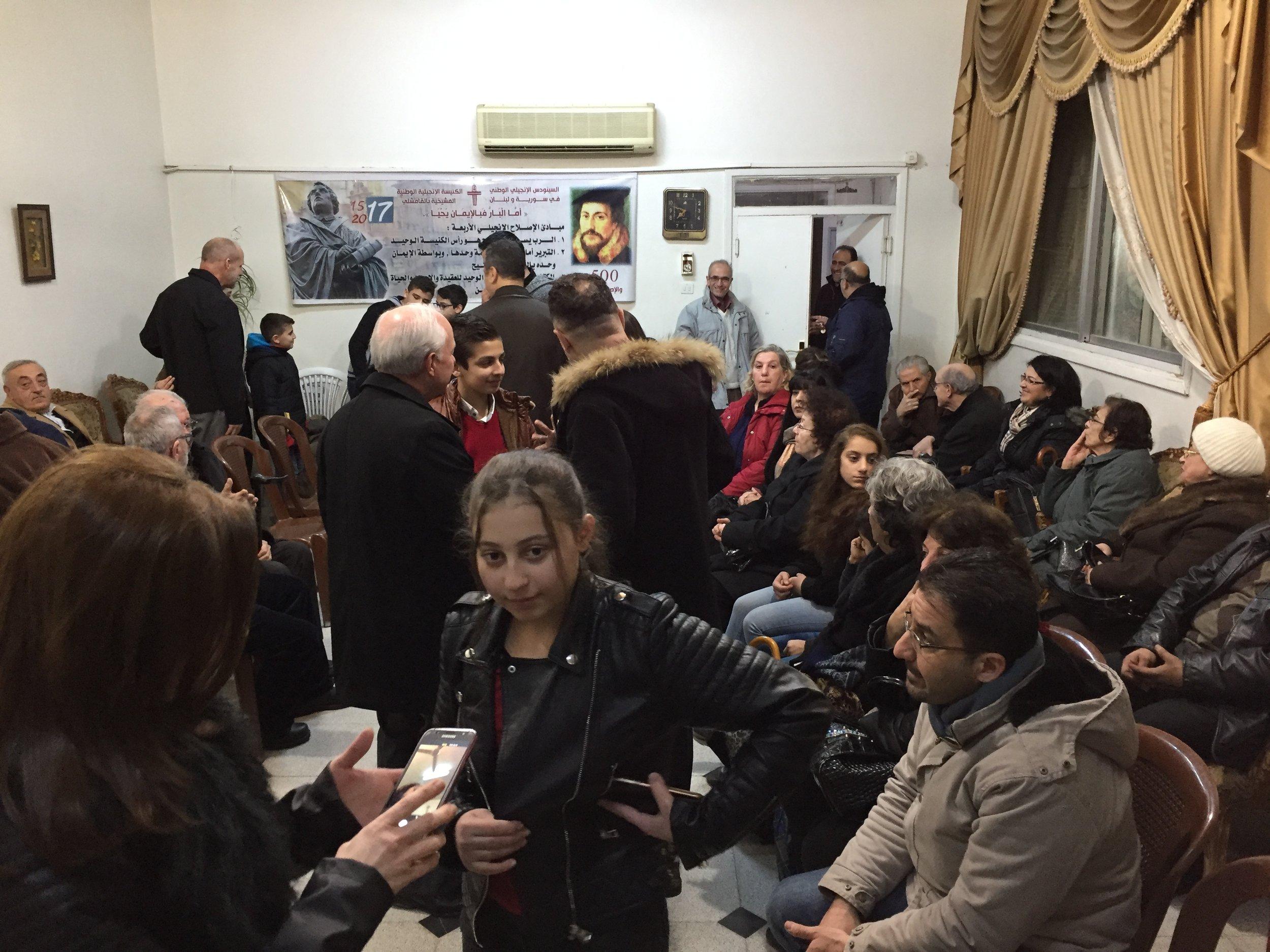 Fellowship with the Qamishli church