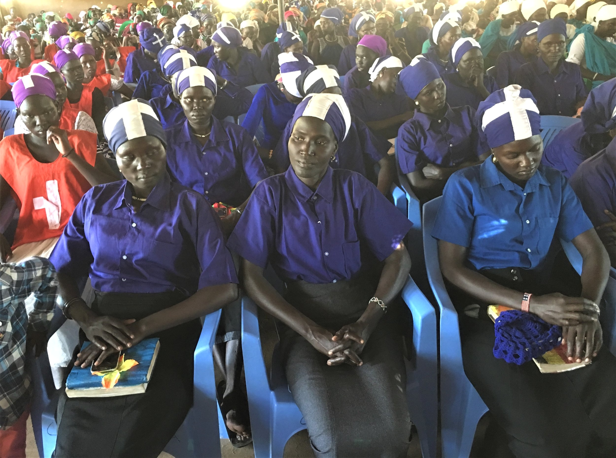 Young widows' choir in Kakuma Presbyterian Church