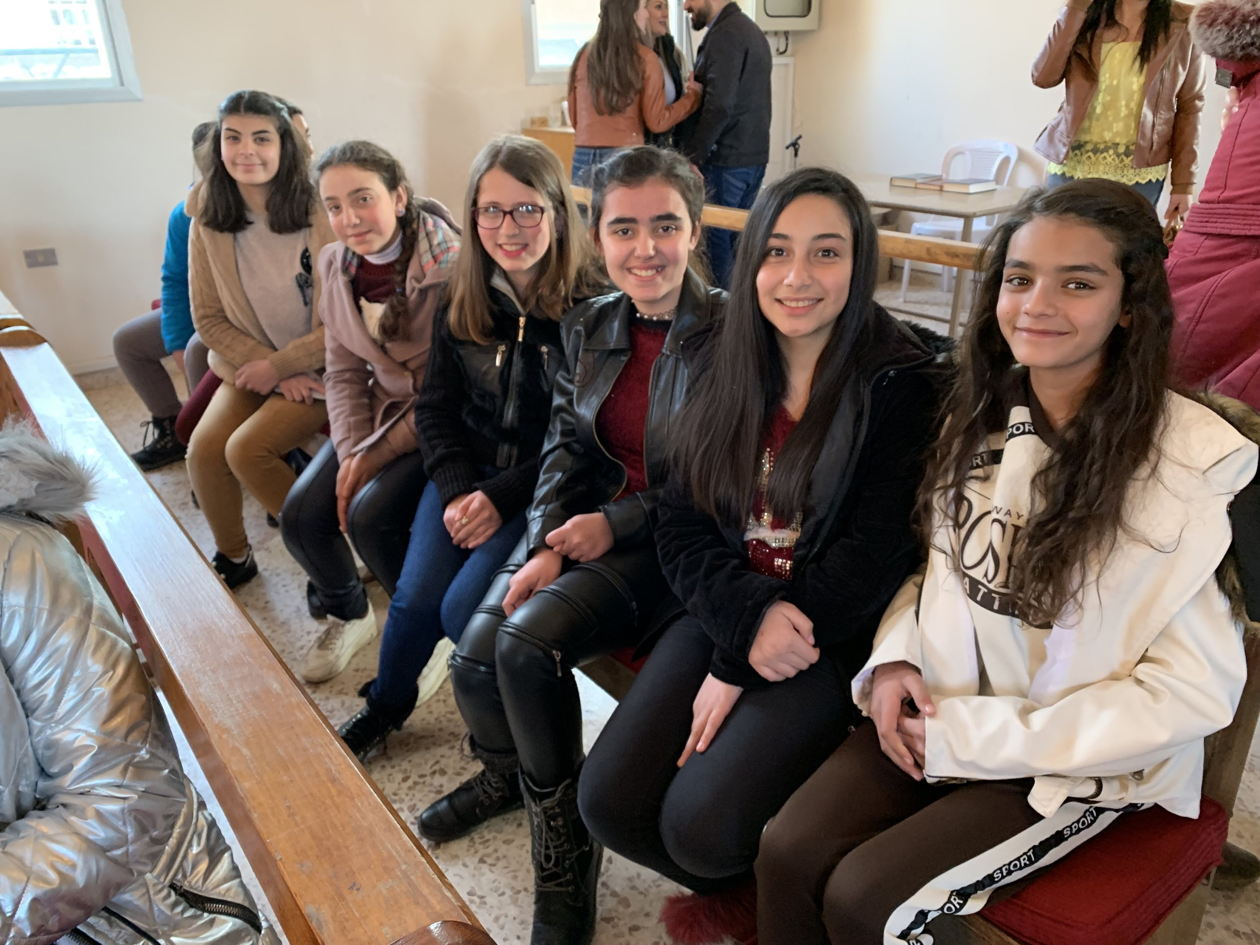 Yes, this is the future of the Church in Syria!