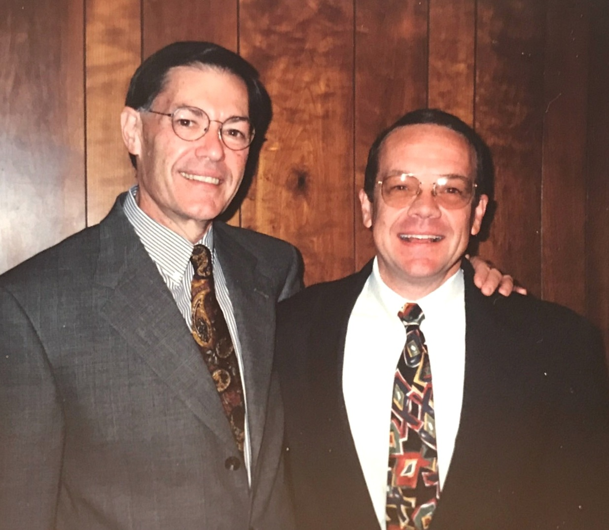 Former Executive Director Rev. Dr. Bill Bryant with Rev. Dr. Jefferson Ritchie