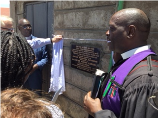 Clean Drinking Water in Kenya March 2019 update PCEA Namelok Borehole project plaque.png