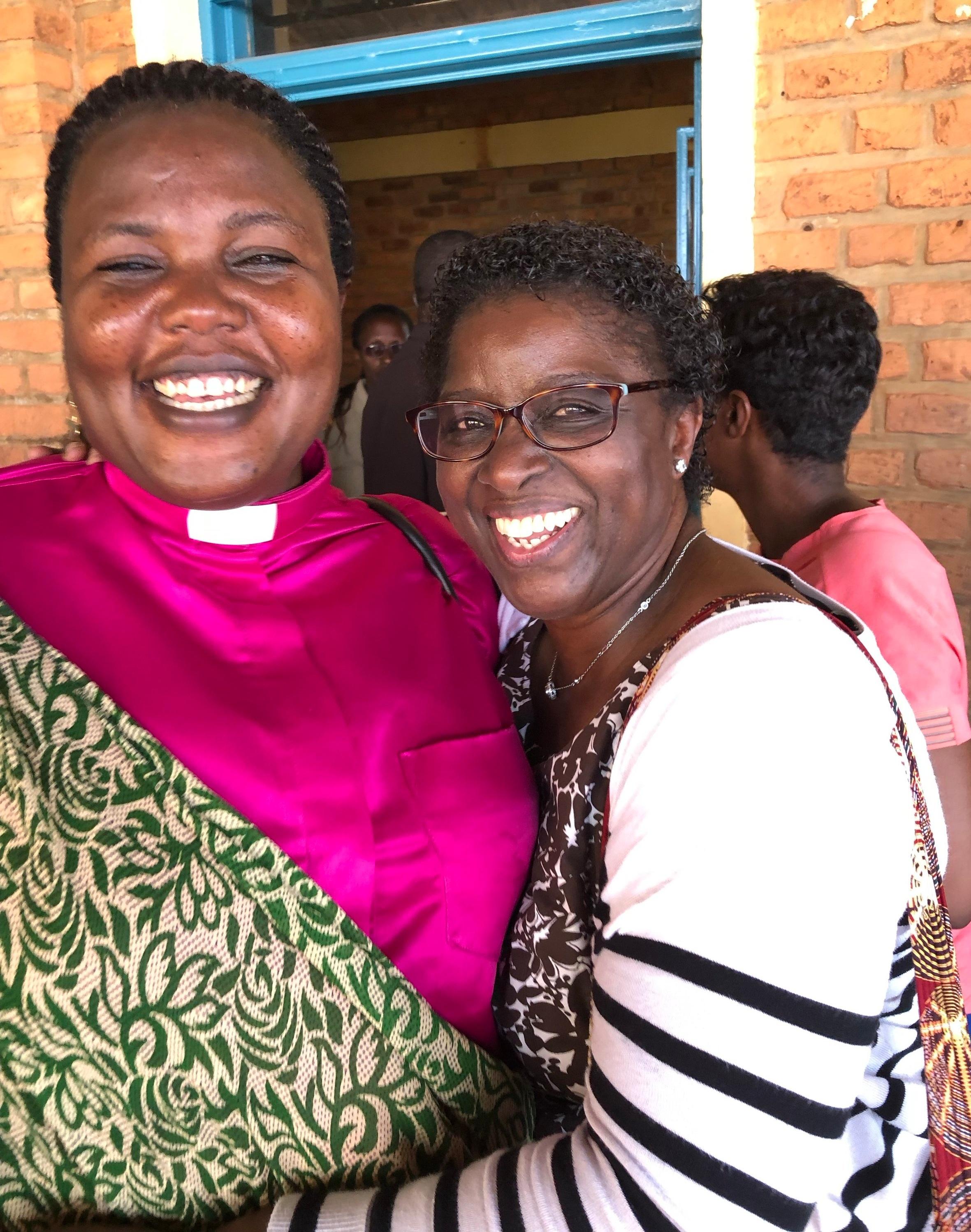 Rev. Julie and Ebralie