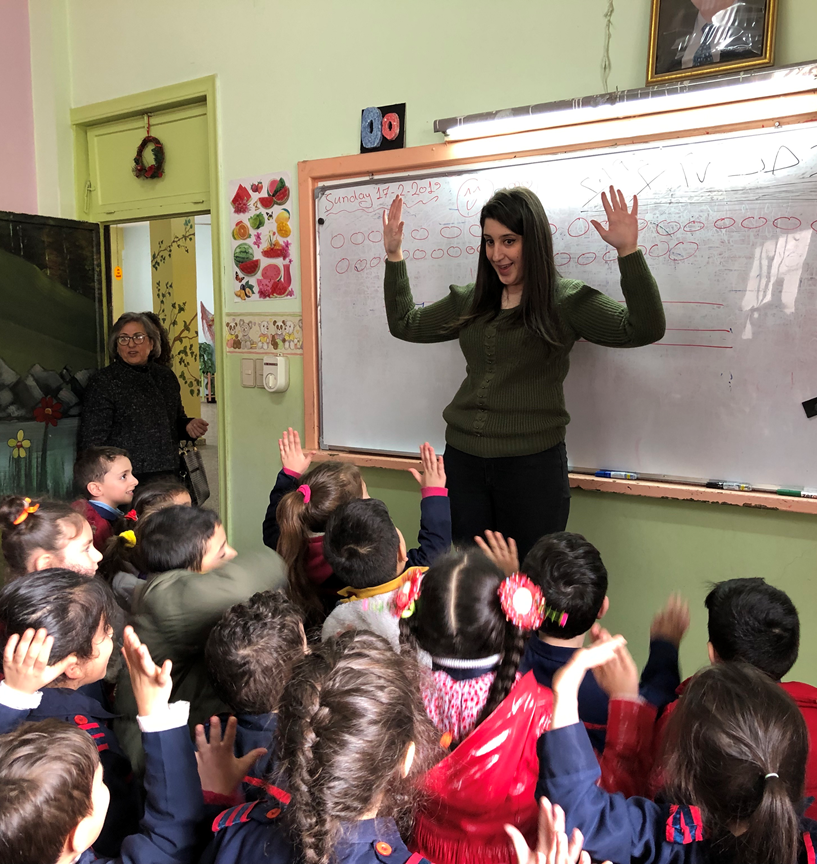 The Presbyterian Church in Homs runs a school with over 1,000 students.