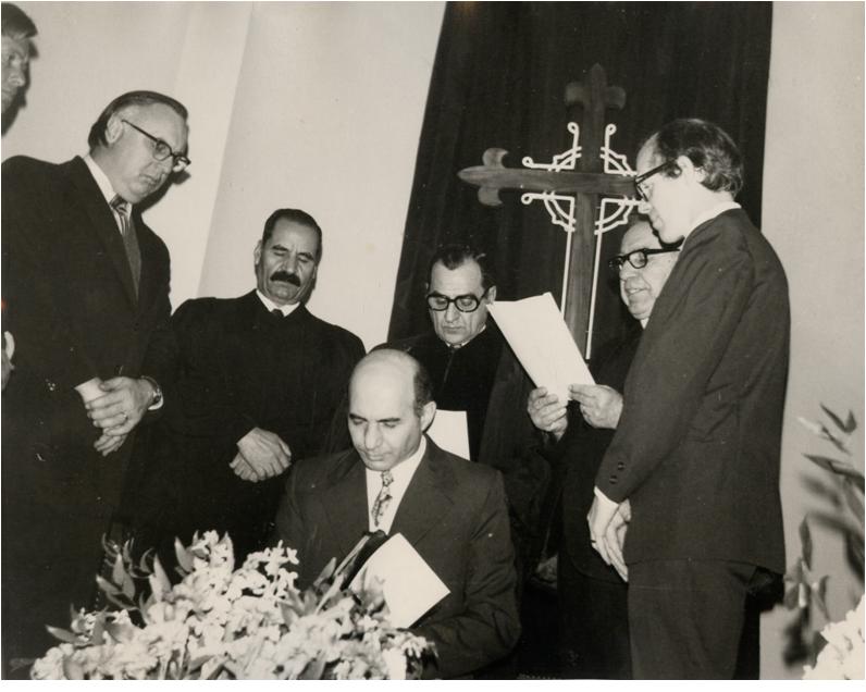 Rev. Michaelian's ordination