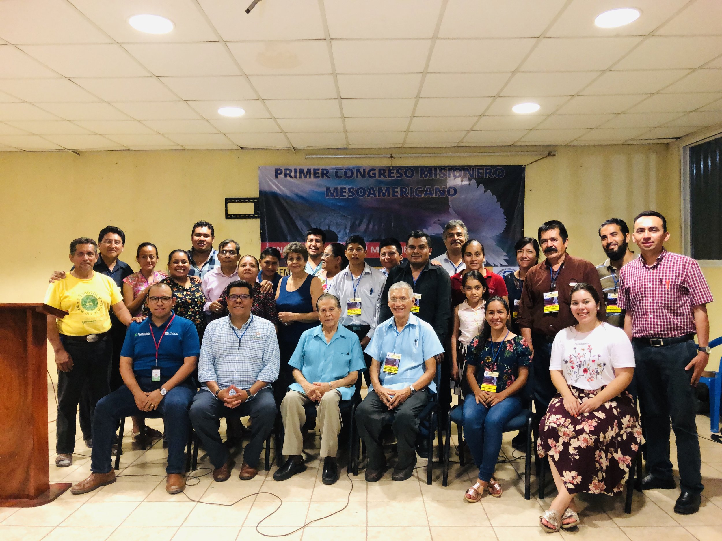 Some of the participants in the 1st Conference of the Presbyterian Mission Society of Mexico