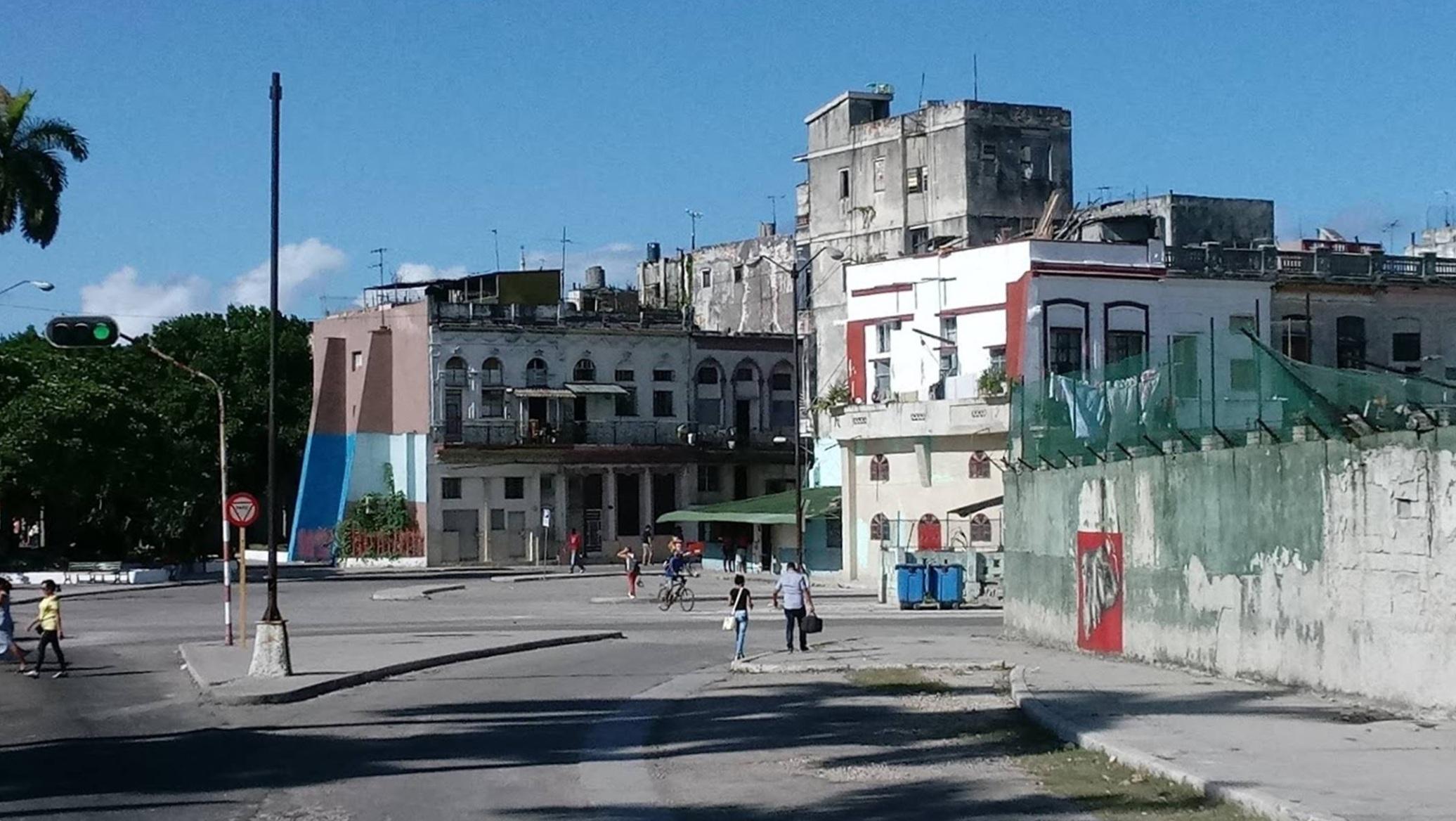 A typical neighborhood in Havana