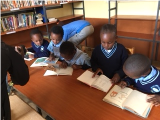 Shalom Academy Library